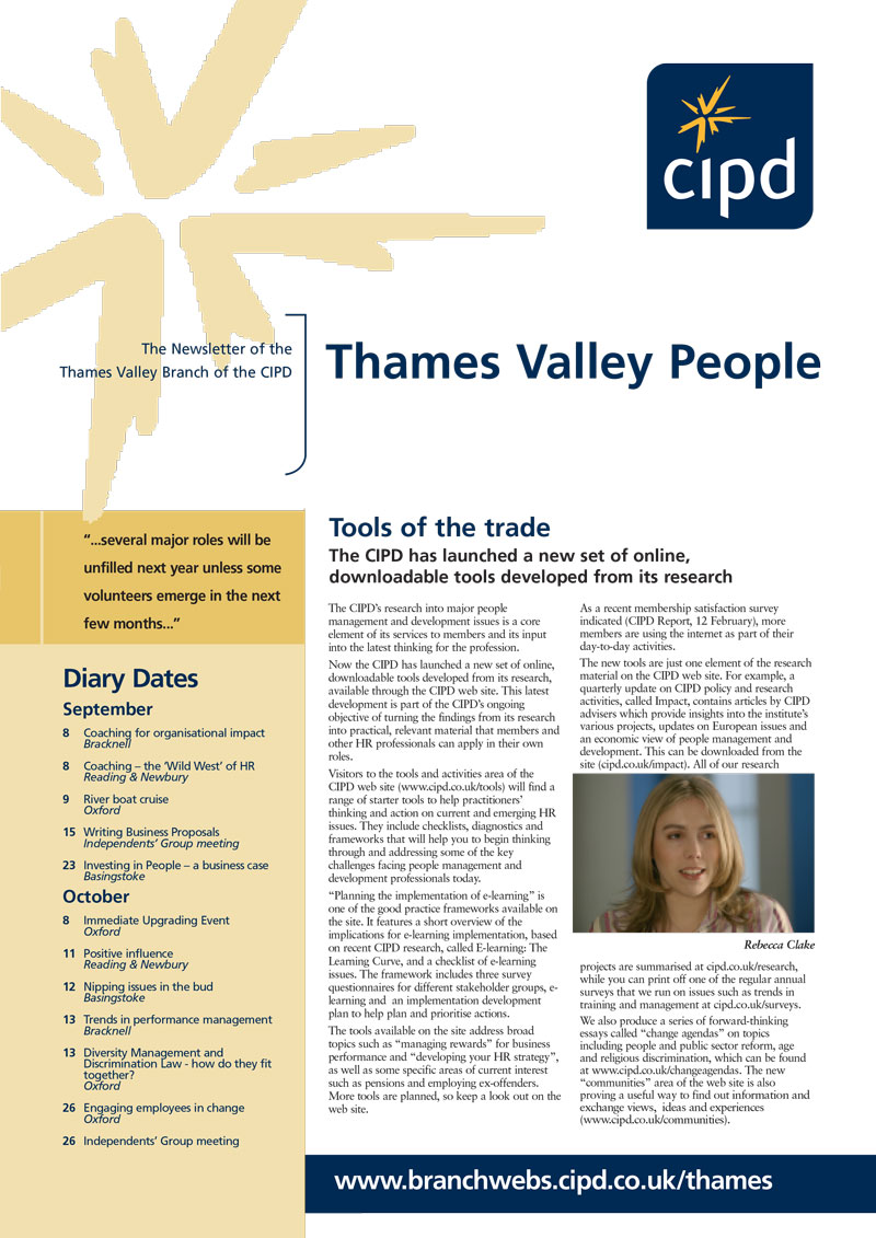 CIPD Thames Valley Magazine