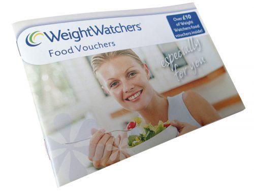 WeightWatchers Voucher Booklet