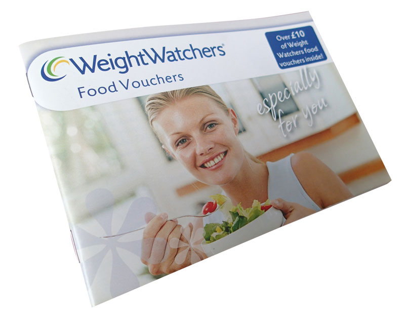 WeightWatchers Voucher Booklet
