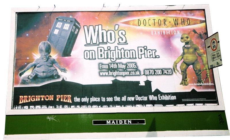 BBC Dr Who Exhibition on Brighton Pier
