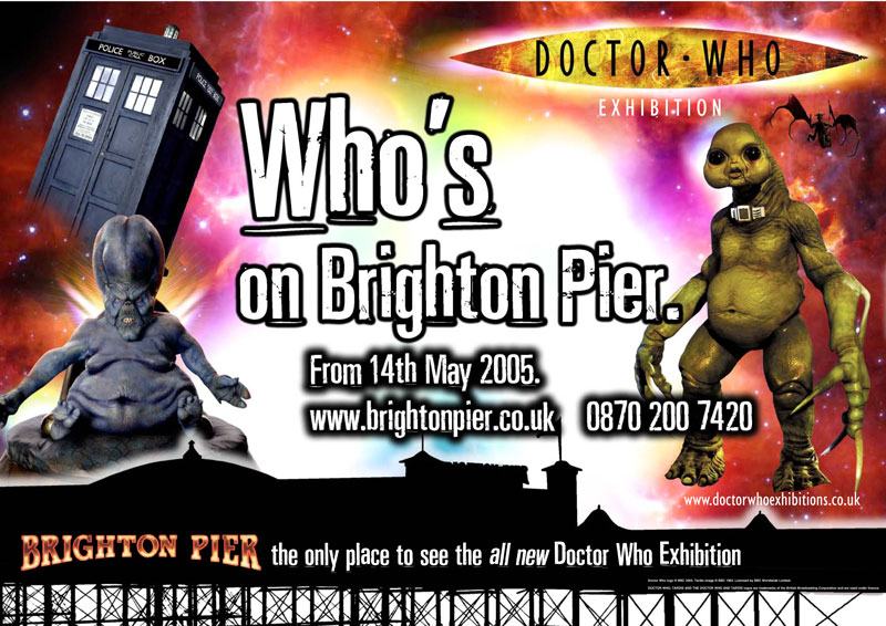 BBC Dr Who Exhibition on Brighton Pier